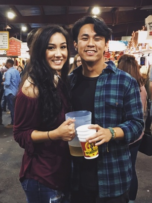 While many men seem to now want commitment, Brent is currently in a relationship with his girlfriend, Nadine. Photo courtesy of Brent Ramirez.