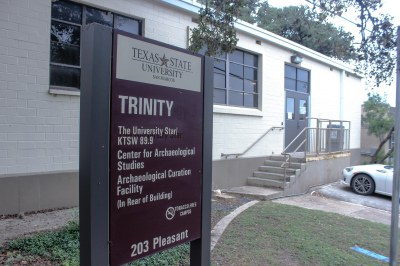 KTSW moved from Old Main to Trinity in August 2016. Photo by Tafari Robertson.
