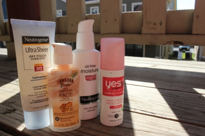 Just because it gets colder doesn't mean that you should ditch your sunscreen. Photo by Megan Bandstra.