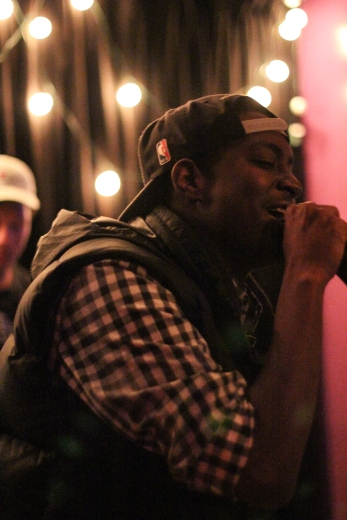 Each artist showcases their best work during their 20 minute set. Artist pictured: GQ Marley.
