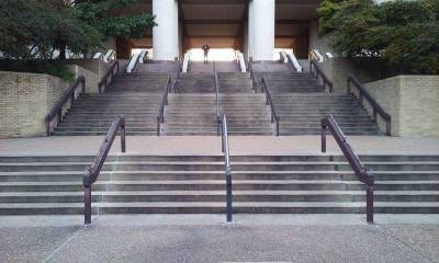 Running up stairs is a great source of cardio and its free! Photo by Austin Cowan.