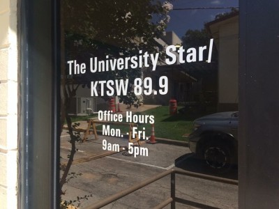 Applying to KTSW was the first step for me to becoming more involved at Texas State. Photo by Alisa Pierce.