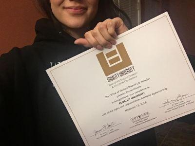 equality-u-certificate