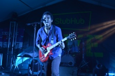 Benjamin Booker showing his fiery passion at Banger's.