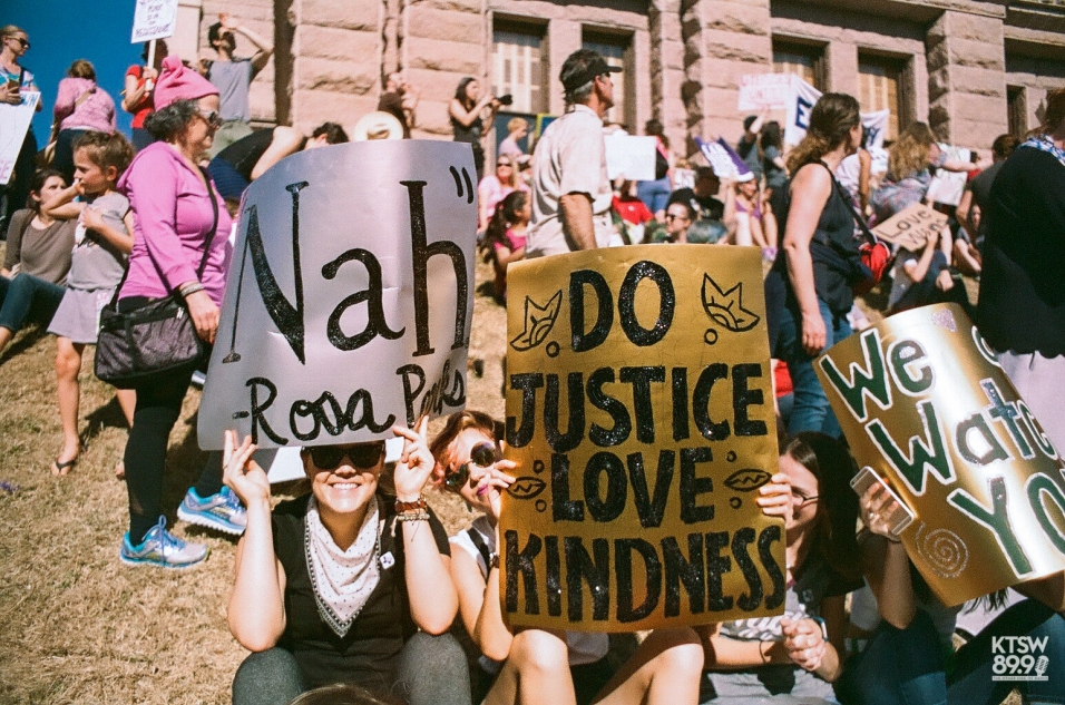 """Nah""-Rosa Parks. (Women's March; 35mm Film)"