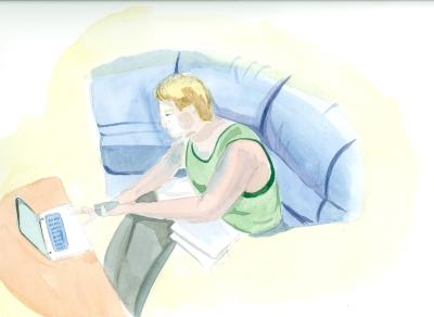 Man on laptop jb
