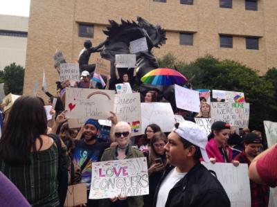 campus protest feature