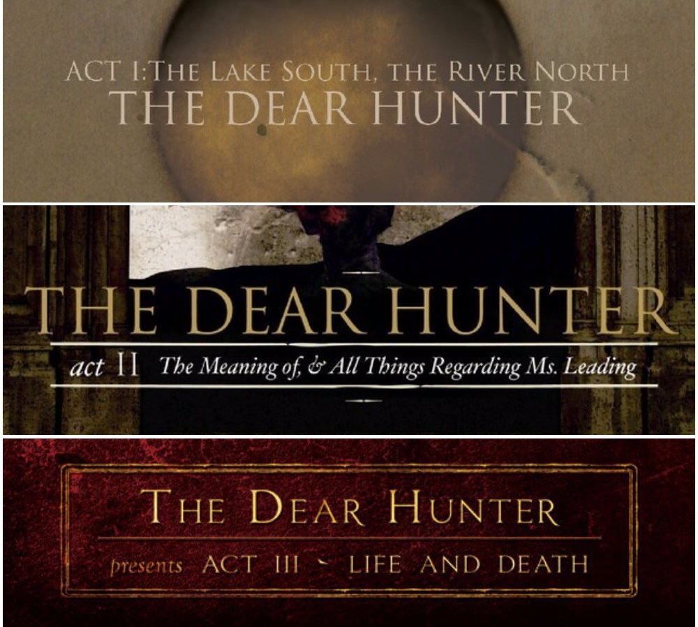 the dear hunter discography