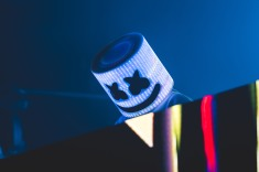 One of the biggest names in EDM right now, Marshmello plays to a pumped up crowd as the closing headliner of Lights All Night.