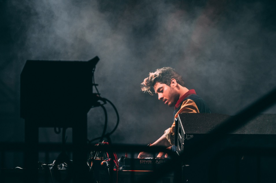 California-native DJ Ookay performs on December 29, 2017 on the Supernova Stage.