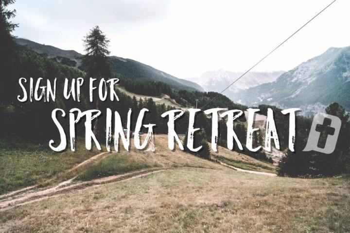 spring retreat 2