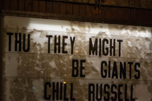 THEY MUST BE GIANTS sign-32
