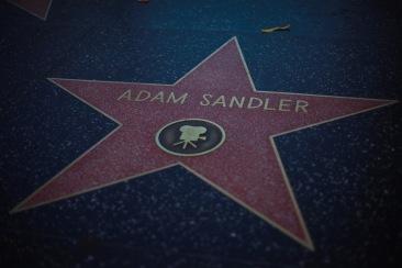 Adam Sandler star in Hollywood, CA.