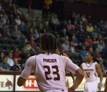 Alex Peacock showed why he was ready to make the jump to D-1 basketball; Photo Credited to KTSW Multimedia  .JPG