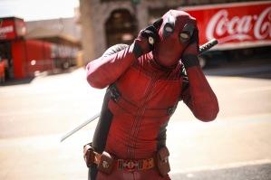 Deadpool in Hollywood, CA.