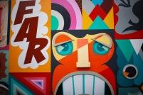 Graffiti art in Venice.