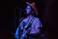 Known for his personality, lead singer Jason Yarger and the rest of the band sported red velvet cowboy hats or the Austin, TX show.