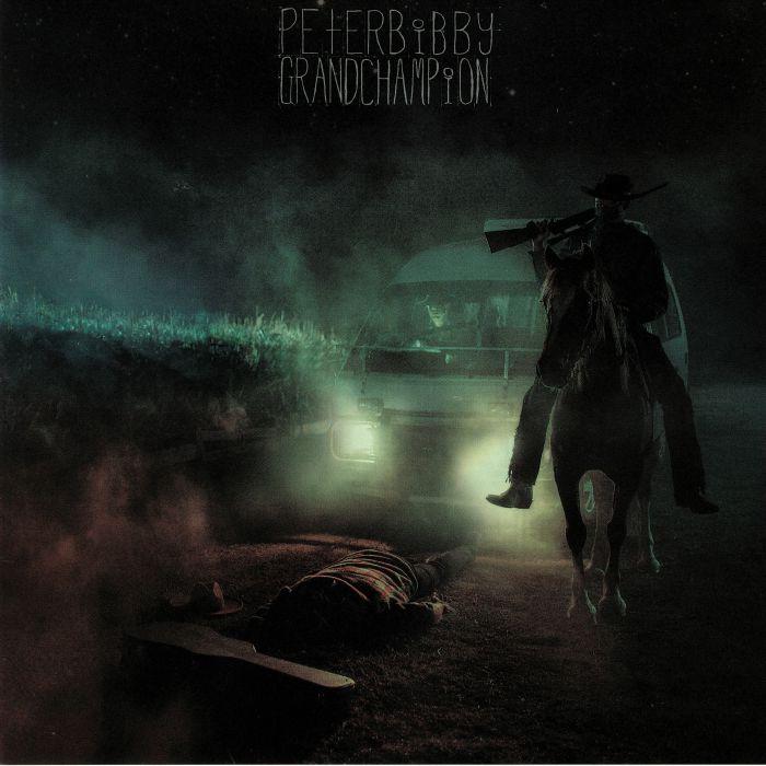 "Album cover for Peter Bibby's album ""Grand Champion"""