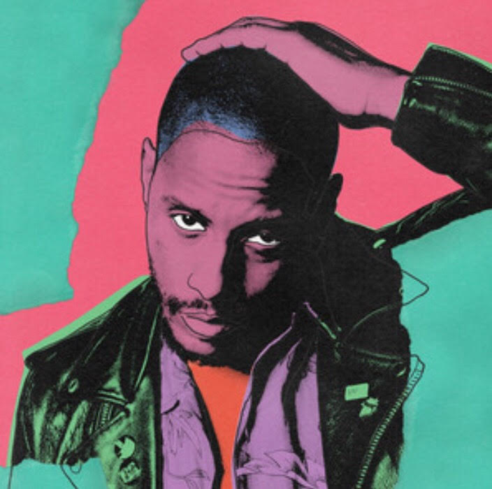 Stephen A. Clark in a brightly colored pop art style.