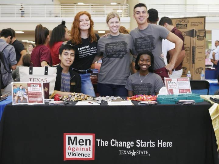 Members of Men Against Violence join KTSW to celebrate International Men's Day