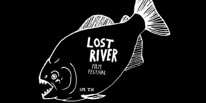 A fish with the Lost River Film Festival on it