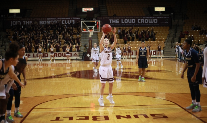 Toshua Leavitt Shoots Under Pressure and delivers for the Bobcats