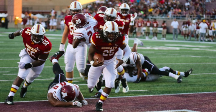 Bobcats bring some heat into conference contenders home field
