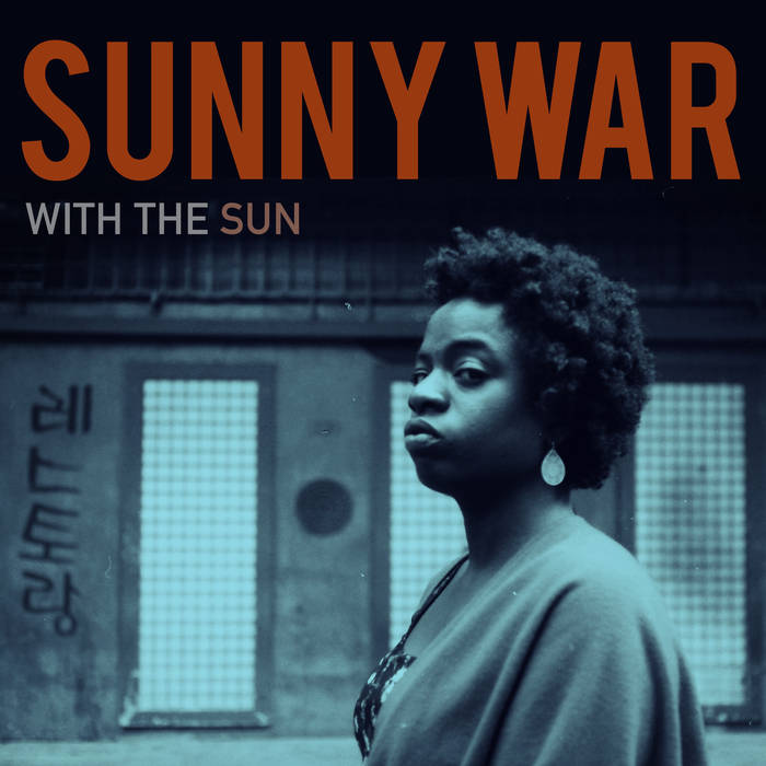 Sunny War on the cover of her third full length album