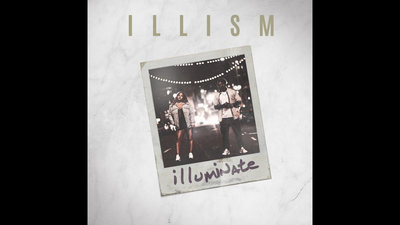 This is the album cover for iLLism's album, Illuminate.