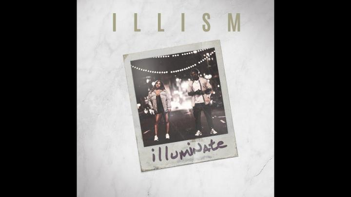This is the album cover for iLLism's album, Illuminate.