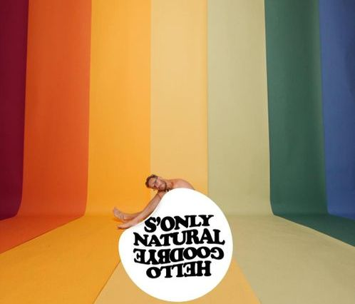 Album cover for Hellogoodbye's new album S'Only Natural