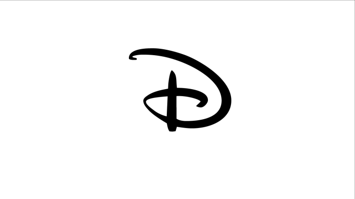 A cursive letter D from the Disney logo.