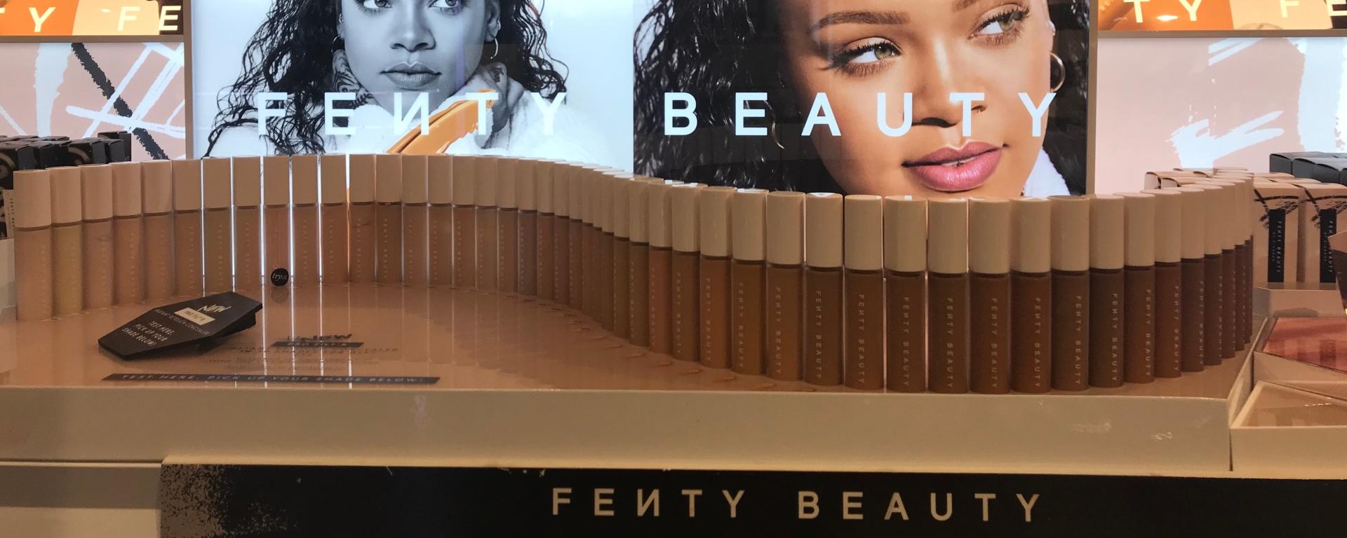 Rihanna's Fenty Beauty shade range