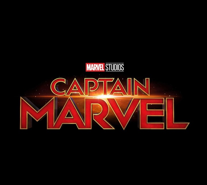 The photo letters spelt out into captain marvel