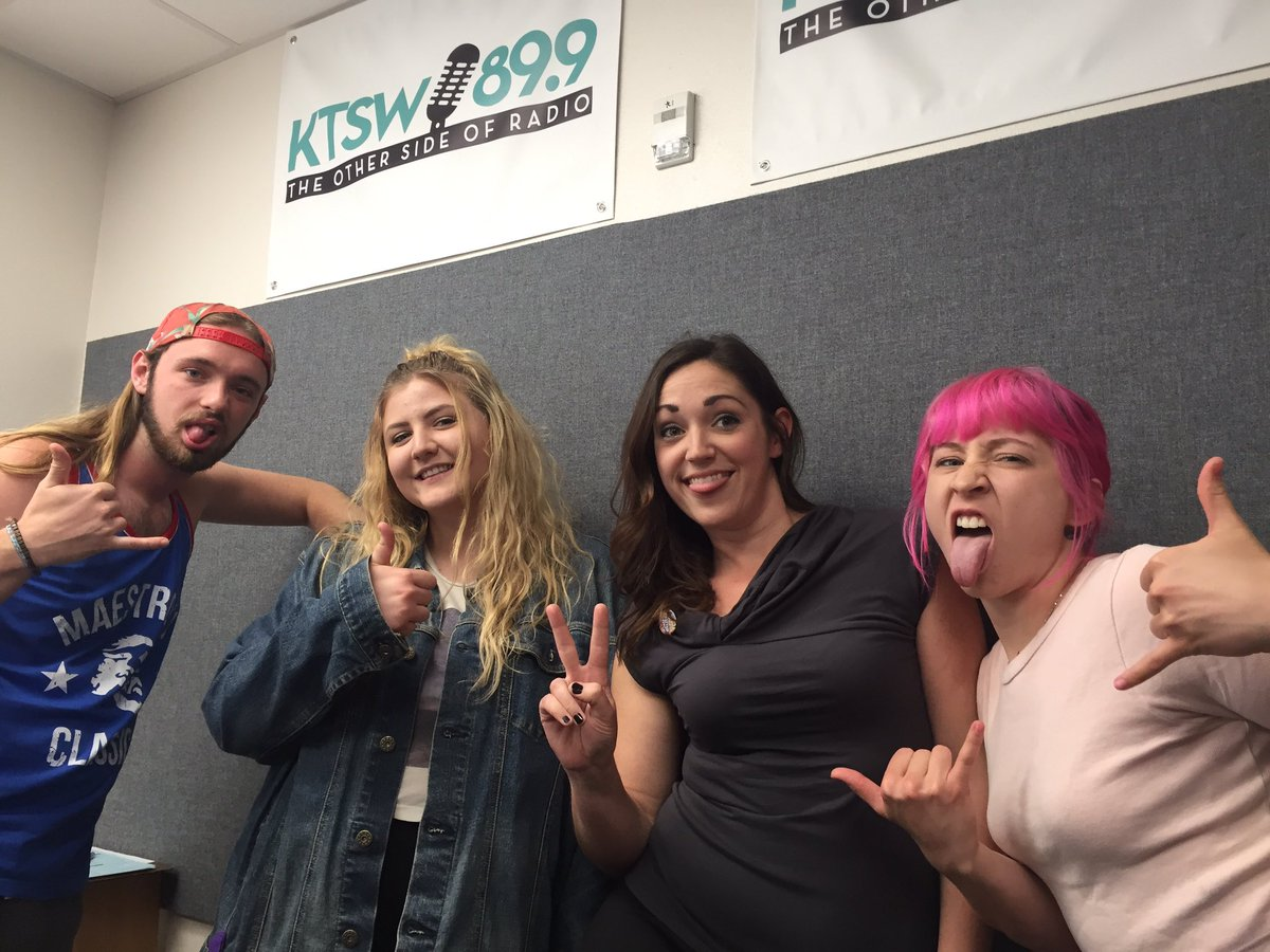 Photo of San Marcos River Rollers and Other Side Drive hosts taken by KTSW Social Media.