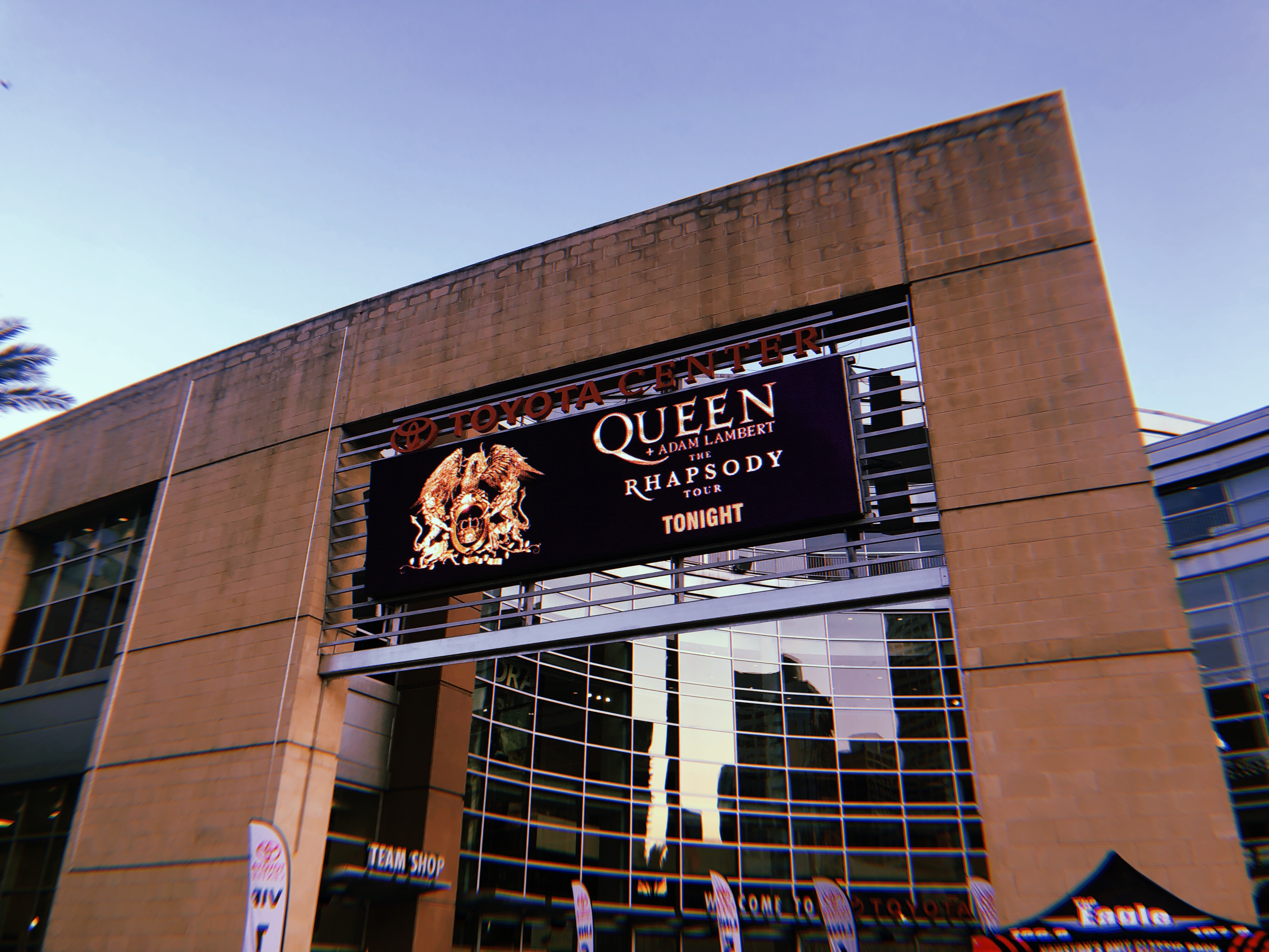 Queen + Adam Lambert's seventh stop on the Rhapsody Tour was theToyota Center in Houston, Texas.