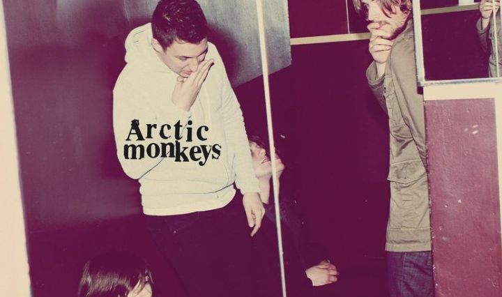 Album art for the Arctic Monkeys' 3rd studio album titled Humbug.