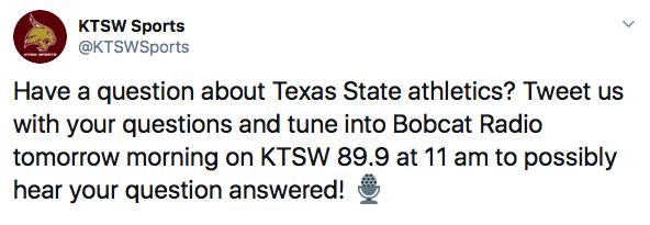 Screenshot of KTSW