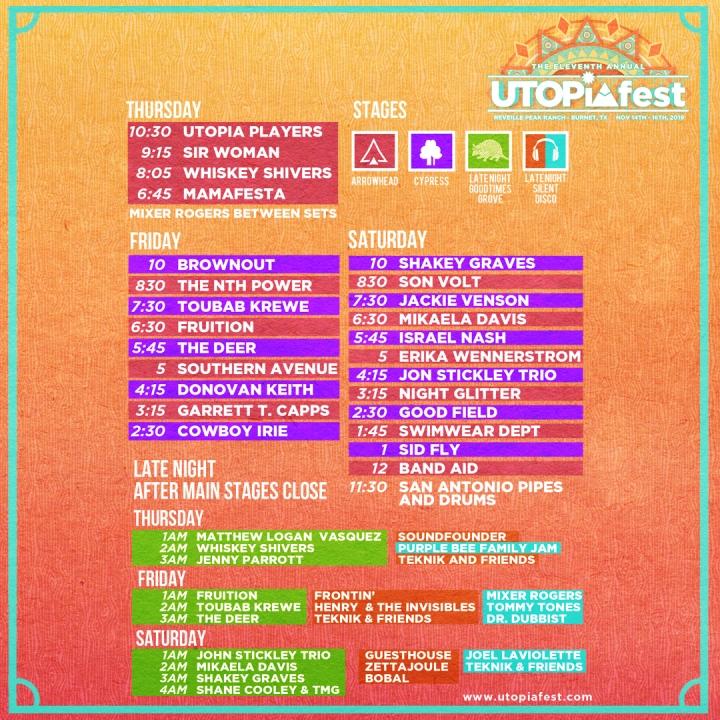 Lineup, Festival, Music, Bands, Fun