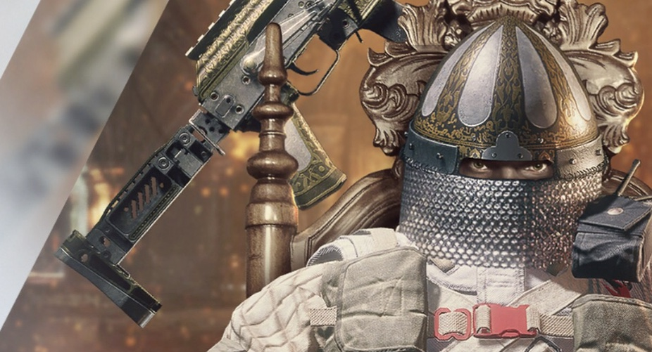 A DLC skin for Tachanka sits slightly right of the image.