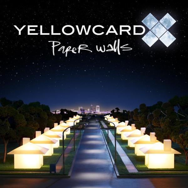 """Artwork for Yellowcard's 2007 album, """"Paper Walls"""""""