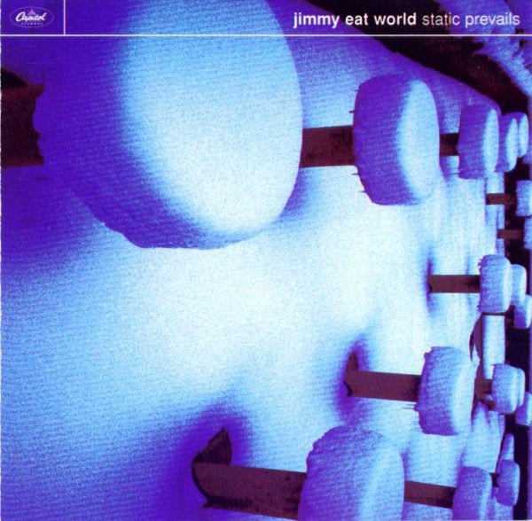 """Artwork for Jimmy Eat World's 1996 album, """"Static Prevails"""""""