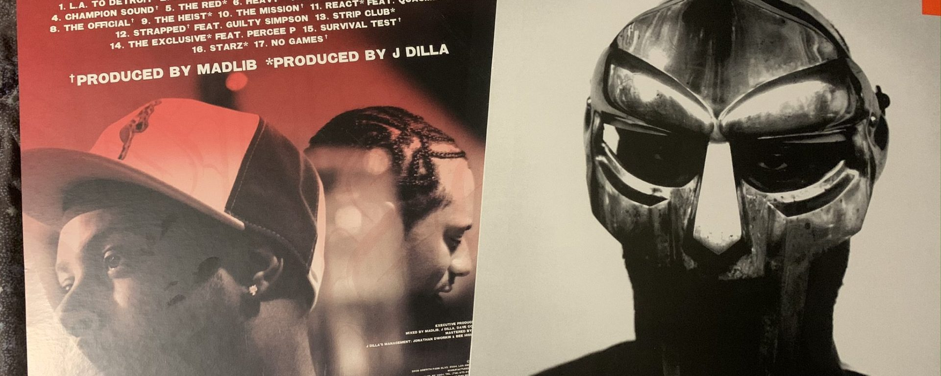 Champion Sound back, Madvillainy front,