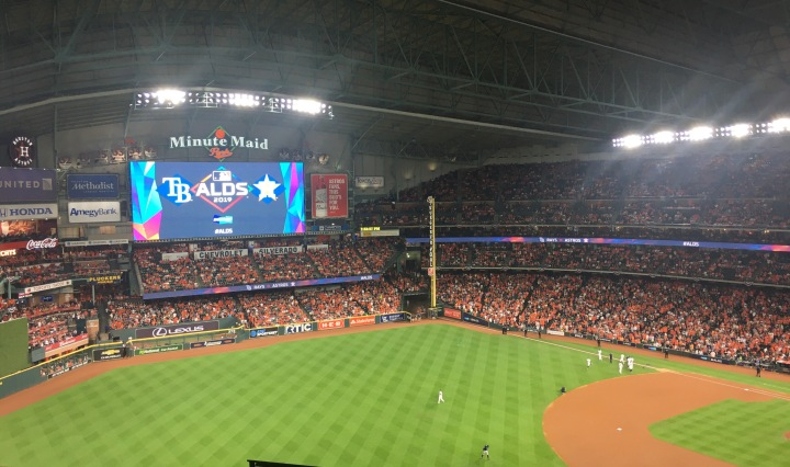 The Stadium is Minute Maid Park. Minute Maid Park is the home field of the Houston Astros