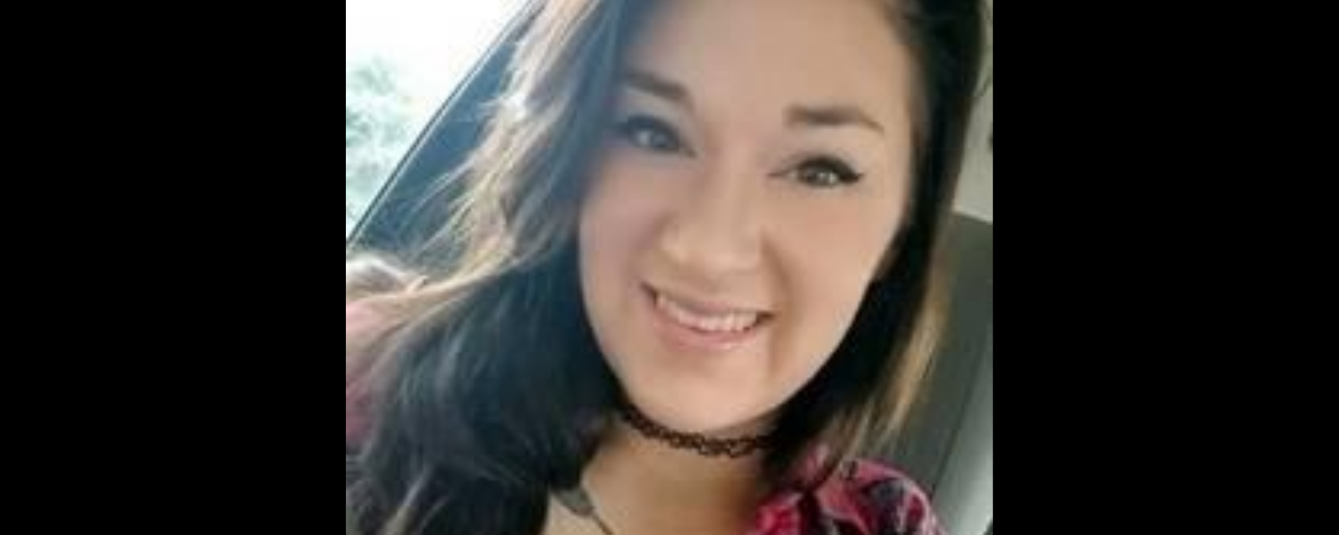A selfie taken by Caitlynne Infinger, the 20-year-old who was murdered by her husband.