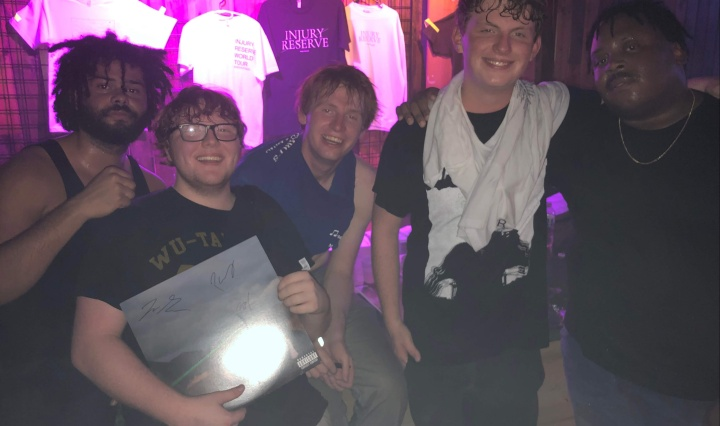Post-show picture with Injury Reserve
