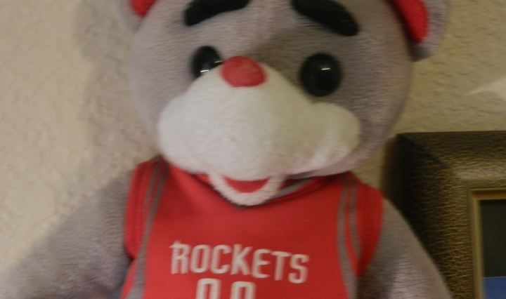 Clutch is the mascot of the Rockets