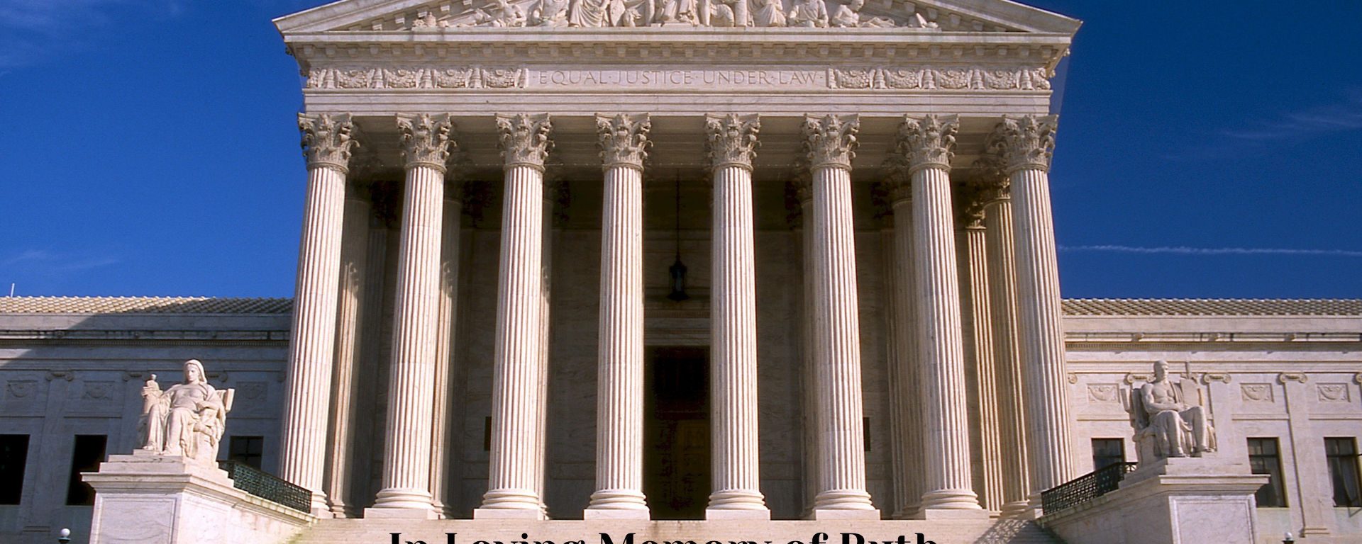 A picture of the Supreme Court in Washington