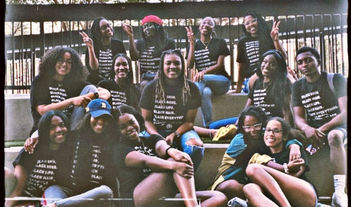 image of The Executive Board of TXST's Black Student Alliance