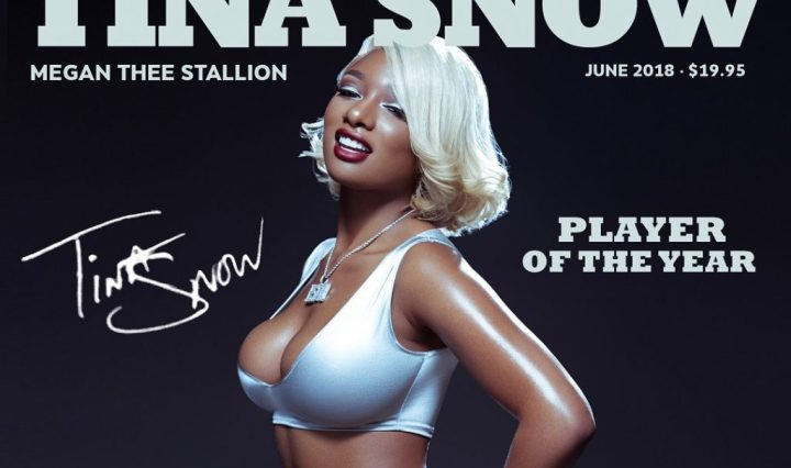 Album cover for Tina Snow by Megan Thee Stallion